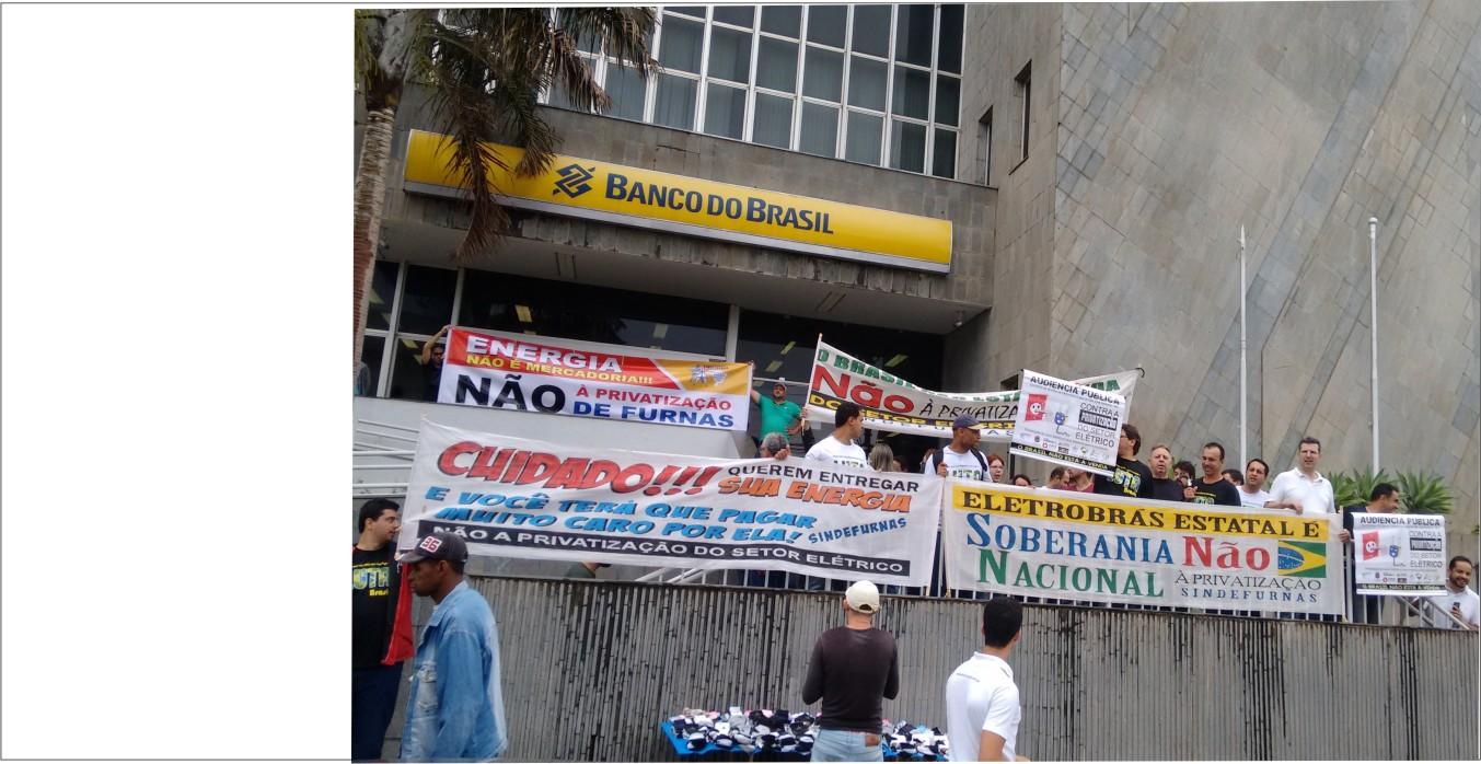 ENERGIA E ÁGUA NÃO SÃO MERCADORIAS!