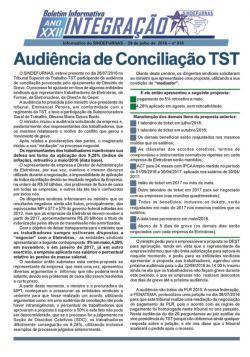Audiência no TST