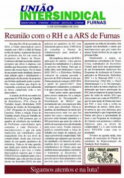 União Intersindical esteve reunida com o RH