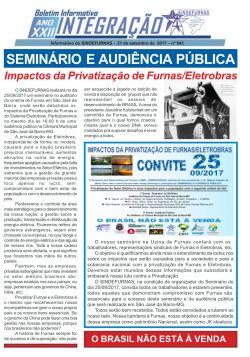 SEMINÁRIO E AUDIÊNCIA PÚBLICA