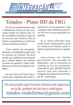 Tetados - Plano BD da FRG