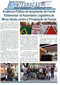 Minas Gerais contra a Privatização de Furnas