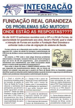 FUNDAÇÃO REAL GRANDEZA OS PROBLEMAS SÃO MUITOS!!!